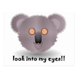 hypnotic koala briefkaart