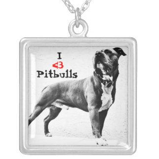 I <3 het Ketting van Pitbulls