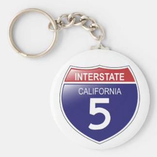 I-5 Californië Keychain Sleutelhanger