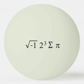 i 8 Dag van de Vergelijking Pi van de sompi de Pingpongbal