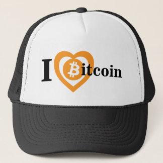 I Crypto van het Symbool van het Logo Bitcoin van Trucker Pet