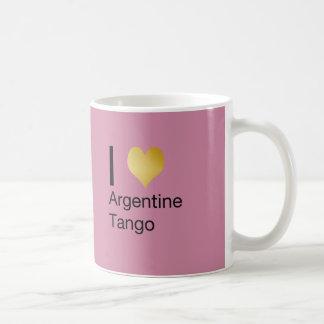 I de Argentijnse Tango van het Hart Koffiemok