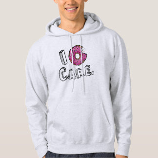 I de Gebeten Roze Doughnut van de Doughnut Zorg Sweatshirt Met Hoodie