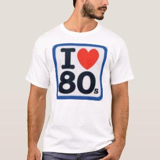 I de jaren '80 van het Hart T Shirt