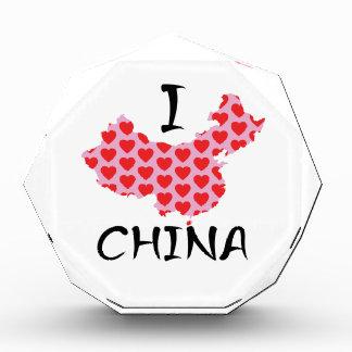 I de kaart van hartChina Acryl Prijs
