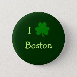 I de Knoop van Boston van de Klaver Ronde Button 5,7 Cm