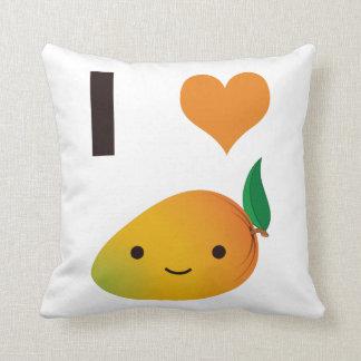 I de Mango van het Hart Sierkussen