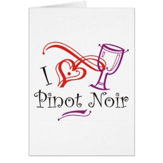 I de Pinot Noir van het Hart Briefkaarten 0