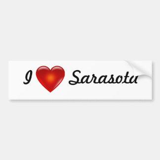 I de Sticker van de Bumper ♥ Sarasota Bumpersticker