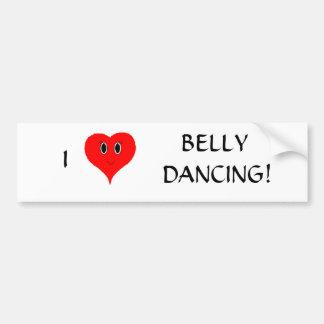 I de Sticker van de Bumper van de Buikdansen van h