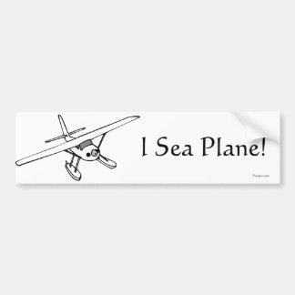 I de Sticker van de Bumper van het Vliegtuig van h Bumpersticker