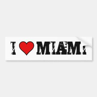 ~I de STICKER van de BUMPER van Miami~ van de lief
