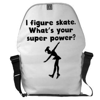 I de Super Macht van de Kunstschaats Schooltas