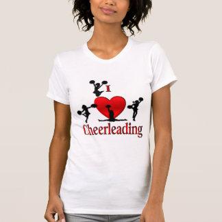 I de T-shirt van Cheerleading van het Hart