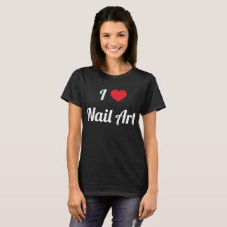 I de T-shirt van de Liefde van de Kosmetiek van de