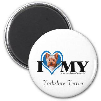 I de Terrier-blauw-Magneet van Yorkshire van het H Magneet