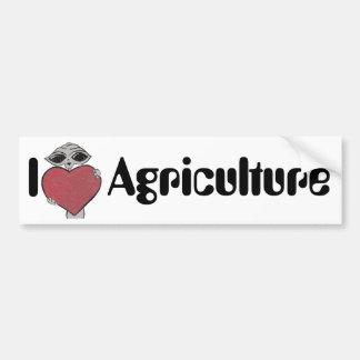 I de Vreemdeling van de Landbouw van de Liefde van Bumpersticker
