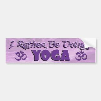 I doet eerder de Sticker van de Bumper van de Yoga