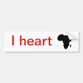 I hart Afrika… Bumpersticker