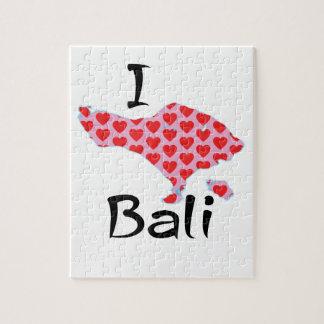 I hart Bali Puzzel