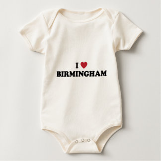 I Hart Birmingham Engeland Baby Shirt