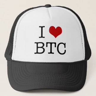I Hart Bitcoin Trucker Pet