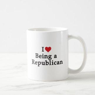 I Hart die een Republikein zijn Koffiemok