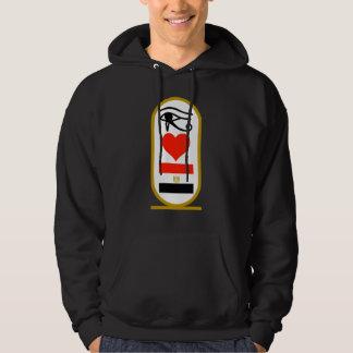 I Hart Egypte Sweatshirt Met Hoodie
