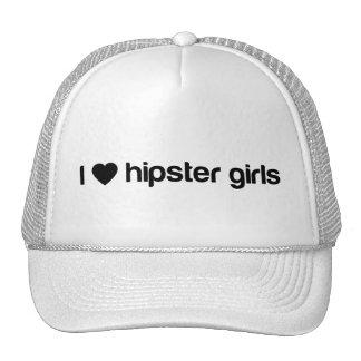 I (hart) hipster meisjes trucker cap