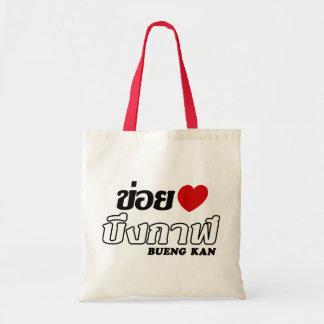 I Hart (Liefde) Bueng Kan, Isan, Thailand Budget Draagtas