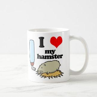 I Hart (Liefde) Mijn Hamster Koffiemok