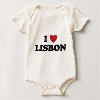 I Hart Lissabon Portugal Baby Shirt