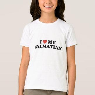 I Hart Mijn Dalmatische T-shirt