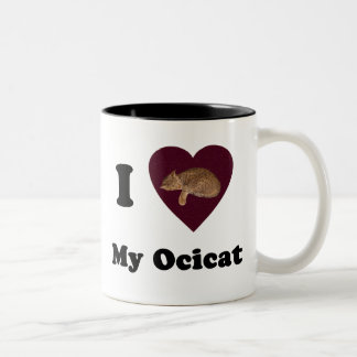 I Hart Mijn Mok Ocicat