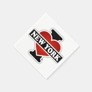 I Hart New York Papieren Servetten