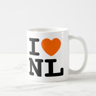 I hart NL Basic Witte Mok