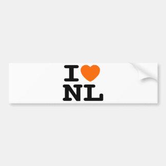 I hart NL Bumpersticker