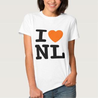 I hart NL T Shirts