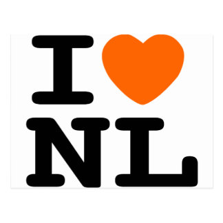 I hart NL Wens Kaarten