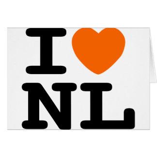 I hart NL Wenskaart