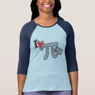 I hart Pi Dag Koel Pi T Shirt