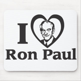 I HART RON PAUL - Mousepad Muismatten