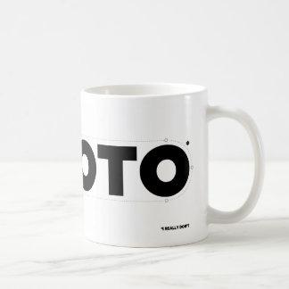 I HART ROTO* (ik niet werkelijk) Koffiemok