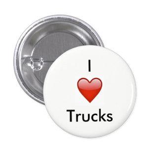 I [Hart] Vrachtwagen Ronde Button 3,2 Cm