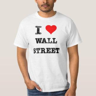 I Hart Wall Street T Shirt