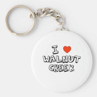 I Hart Walnut Creek Sleutelhanger