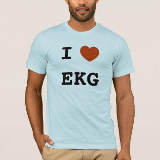 I hartelectrocardiogram t shirt
