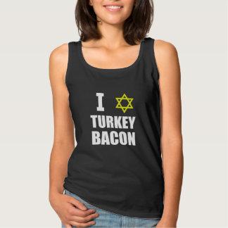 I het Bacon van Turkije van de Ster Tanktop