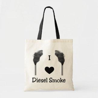 I het Diesel van het Hart Canvas tas van de Rook