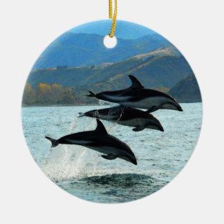 I het Ornament van Kerstmis Delfini
